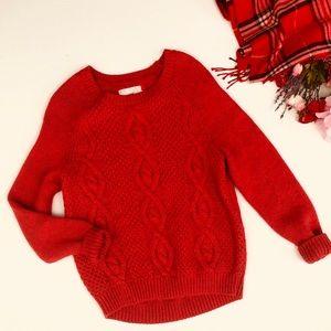 H&M L.O.G.G. Wool blend chunky loose knit sweater